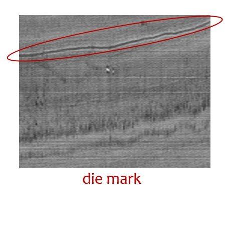 Die mark